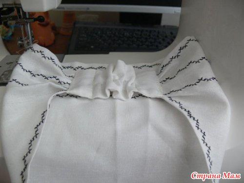 Как сшить модную косынку на резинке?