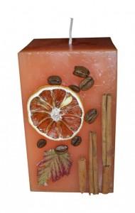 апельсин сухой свеча
