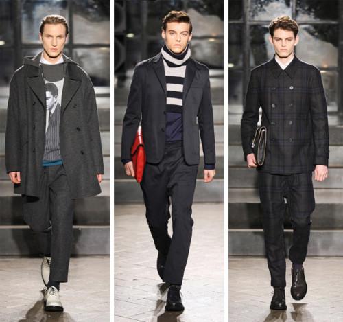 Серая осень – модные тенденции в мужской одежде