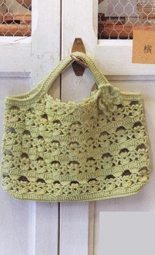 Красивая сумка крючком