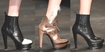 Осенняя обувь 2013
