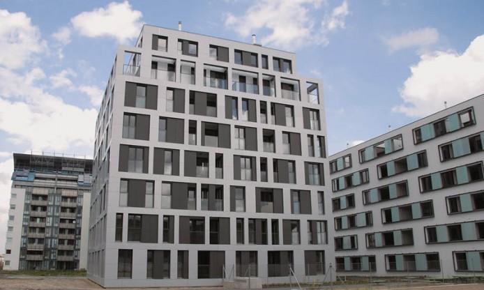 Жилые здания, Вена, Австрия.