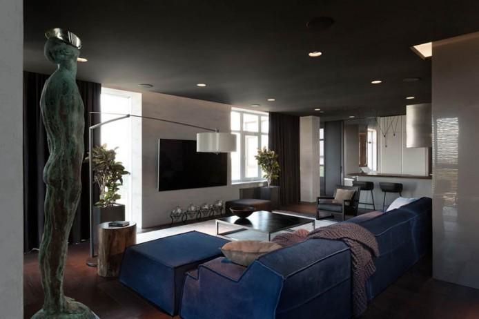 Квартира для космополита от InCube