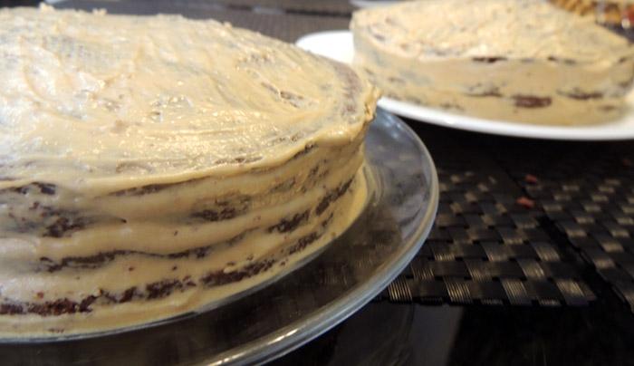 Торт с варёной сгущёнкой в домашних условиях простой рецепт 95