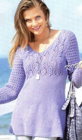 Связать пуловер