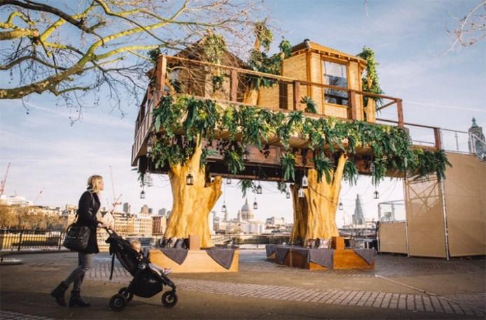 Роскошный дом на дереве от Virgin Holidays, Лондон, Великобритания.