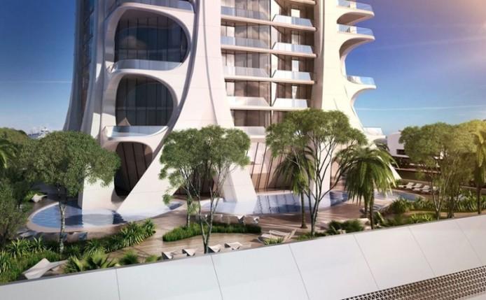 One Thousand Museum от Zaha Hadid, Майами, США.