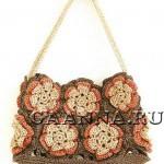 2 сумочки из цветочных мотивов