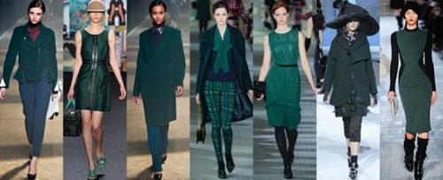 Другие модные цвета зимнего сезона