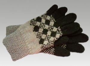 Вязанные перчатки1