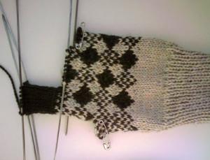 Вязанные перчатки5