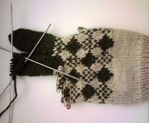 Вязанные перчатки6