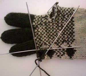 Вязанные перчатки7