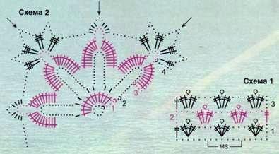 Вязаный розовый топ размеры: 36/38 (40/42)