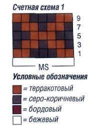 Вязаное пончо с жаккардовыми узорами размеры: 36 44