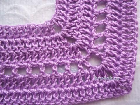 Сарафан для девочки. Работа Татьяны Власенко вязание и схемы вязания
