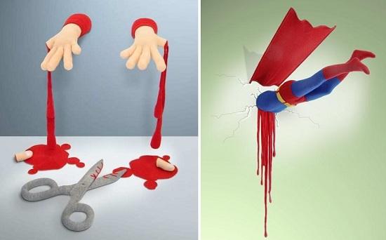 жуткие вязанные игрушки