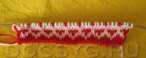 жаккардовое вязание шаг9
