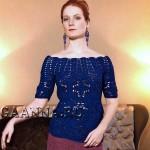 Элегантная блуза